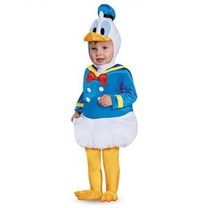 Donald Duck costume 6-12months